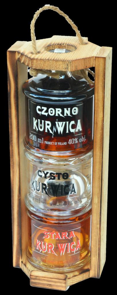 Trojaczek 3x200ml Czorno Cysto Stara