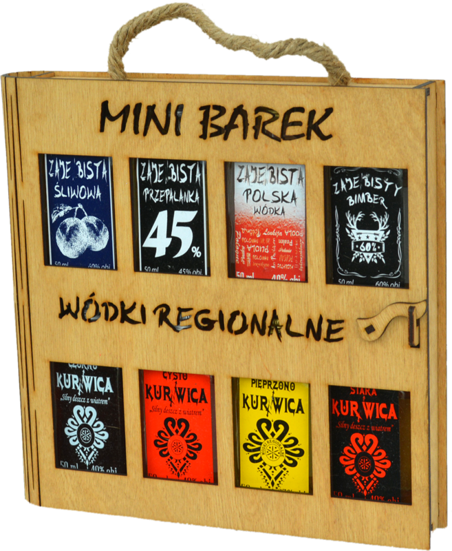 Mini Barek 8x50ml